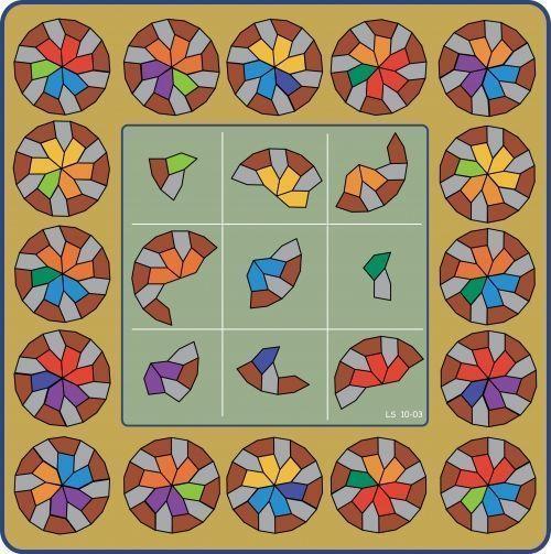 Los Cuadrados Mágicos III (Cuadrados Geomágicos)