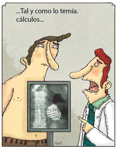 """Los """"cálculos"""" no son una cosa fácil"""