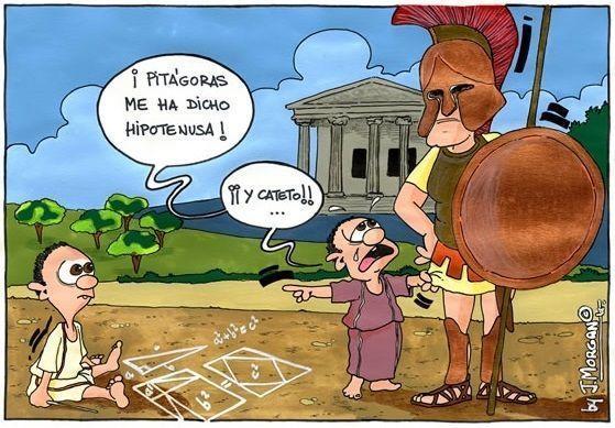 Las cosas de Pitágoras...