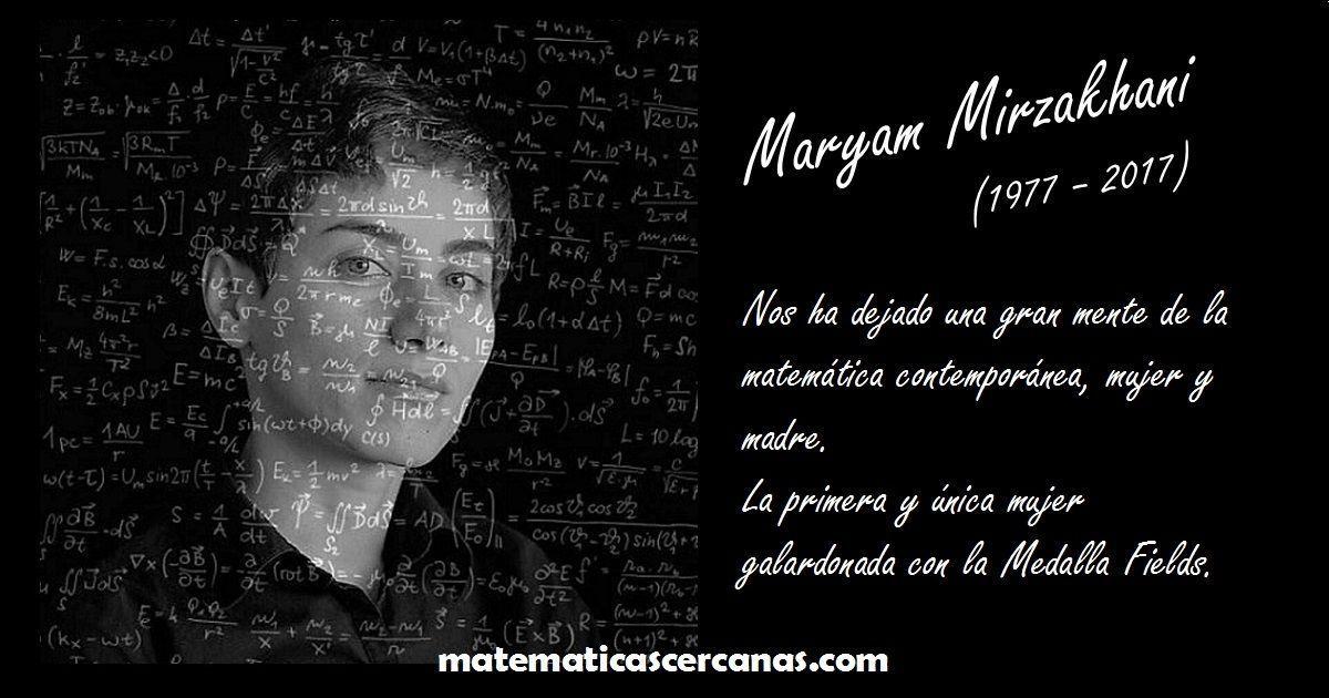 Maryam Mirzakhani, la primera mujer que recibió la Medalla Fields en Matemáticas